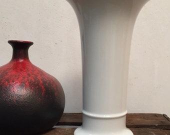 Porcelain vase, AK Emperor No. 798/1, OP-ART, glazed, bouquet vase