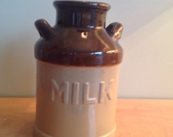 Container with milk or bottle