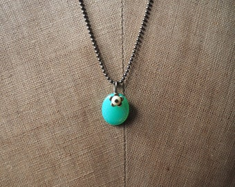 Turquoise simple necklace
