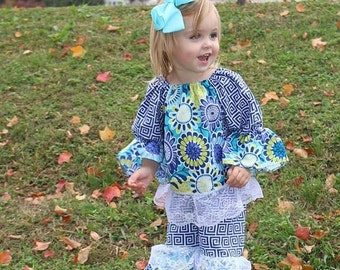 On Sale Baby Girl Ruffle Outfit - Unique Girls Outfit