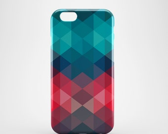 Triangle geometric pattern iPhone 6 plus Case, hipster iPhone 6 Plus case, cool iphone 6 plus case, iPhone 6 plus case vintage, gift for him