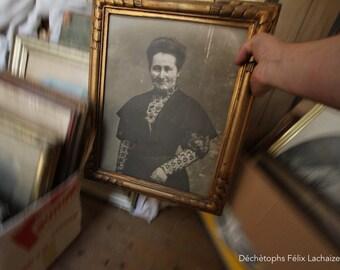 photo printing: Portrait old photo, dechetoph.
