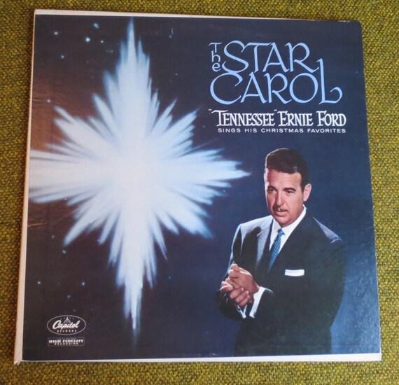 Vinyl Record The Star Carol Tennessee Ernie Ford Sings His