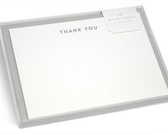 Earle Hot Foil Thank You Note Cards - Set of 10