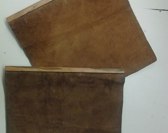 Soft Leather 3 ring binder 1/2""