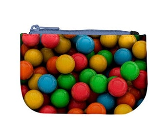 Gumballs Purse Candy / Zip Up Purse