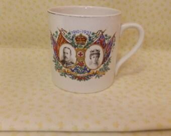 King George V Silver Jubilee Mug - 1910 to 1935