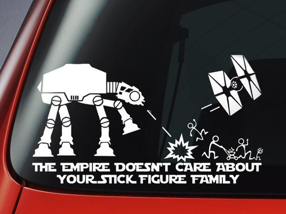 vinyl decal star wars inspired 39 the empire by vinyl33decals. Black Bedroom Furniture Sets. Home Design Ideas