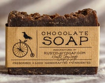 Easter gift-Chocolate Soap-All Natural Soap,natural chocolate,Homemade Soap,chocolate flavor,gift for her,gift for girlfriend,gift for women