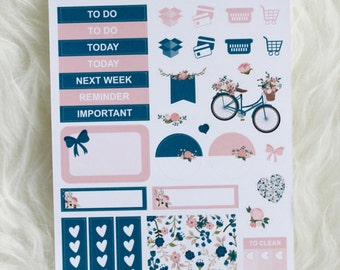 Make Me Blush Sampler Planner Stickers