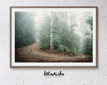 Landscape Photography, Nature Print, Printable Art, Large Art, Wall Print, Forest, Woodland, wanderlust Print, Wilderness Photo, 8x10 photo