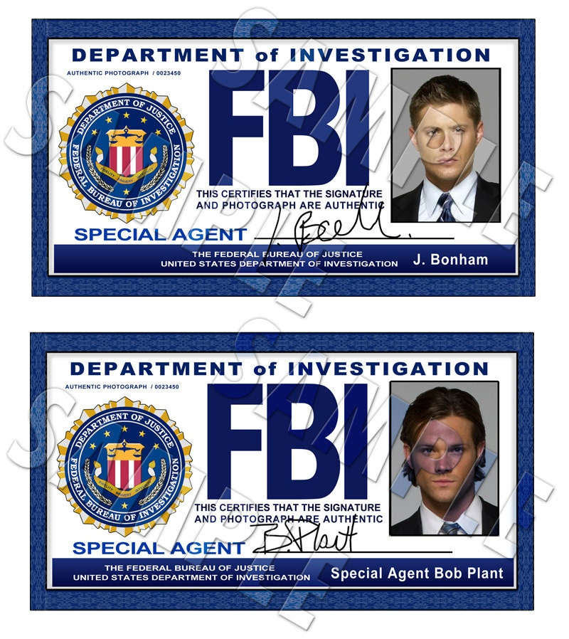 fbi badge maker images galleries with a bite. Black Bedroom Furniture Sets. Home Design Ideas