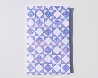Galaxy Square Illustrated Notebook
