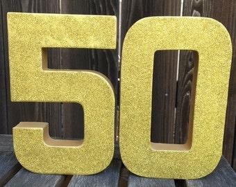 50th Wedding Anniversary, Golden Anniversary, Photo Prop, 50th Anniversary, Golden 50th, Cake Table,Table Centerpiece,Anniversary Decoration