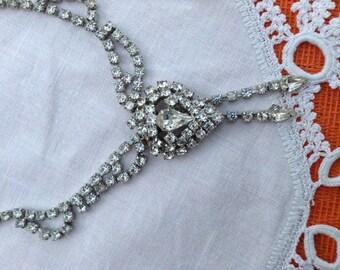 Wedding Vintage Rhinestone Necklace