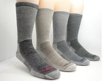 Wool Hiking Socks - Merino Wool Socks, Thermal Socks, Hiking Socks, Made in Canada