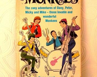 The Monkees  vintage paperback 1966 Davy Jones Micky Dolenz Peter Tork Michael Nesmith