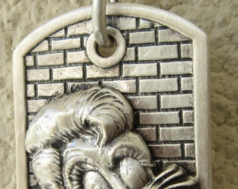 STRAY CATS Pendant Sterling Silver .925