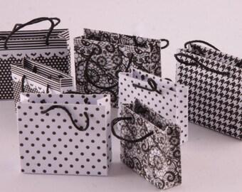 Shopping Bag Scale 1/12-2 pz. Large + 2 pcs. Small