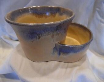 Hand Thrown Pistachio Bowl