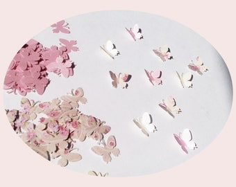 Stray parts, decorative table decorations confetti wedding baptism butterflies