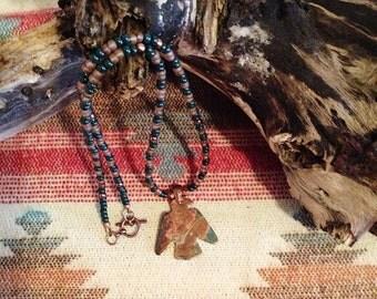 Native American Inspired, Thunderbird Necklace, The Lakota Wakinyan
