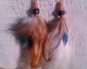 Gorgeous Long Feather Earrings