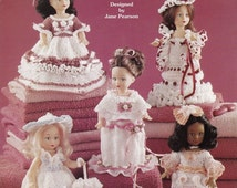 French Missy, Home Decor Crochet Pattern Booklet The Needlecraft Shop 991004 Air Freshener Doll Clothes
