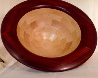 Maple and Bloodwood Salad Bowl