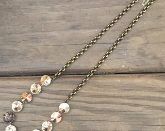 Golden Shadow 12mm Necklace