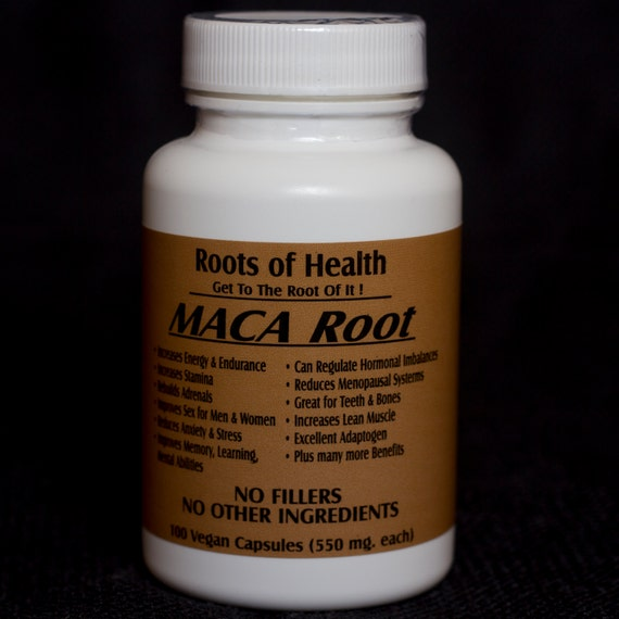 Organic Maca Root By RootsofHealthonline On Etsy