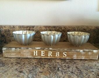 Indoor herb starter pots