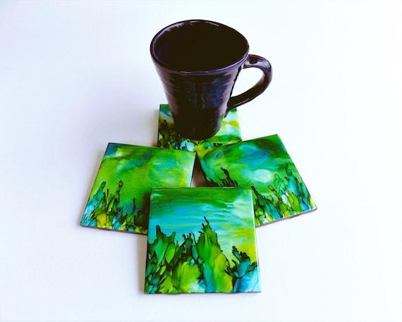 Coasters For Drinks Handmade Coasters