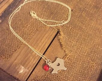 Texas Love Necklace