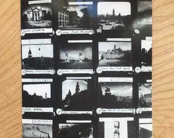 """Handmade Postcard: """"Vintage Slides,"""" 2016"""