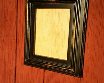 Hand made distressed picture frame