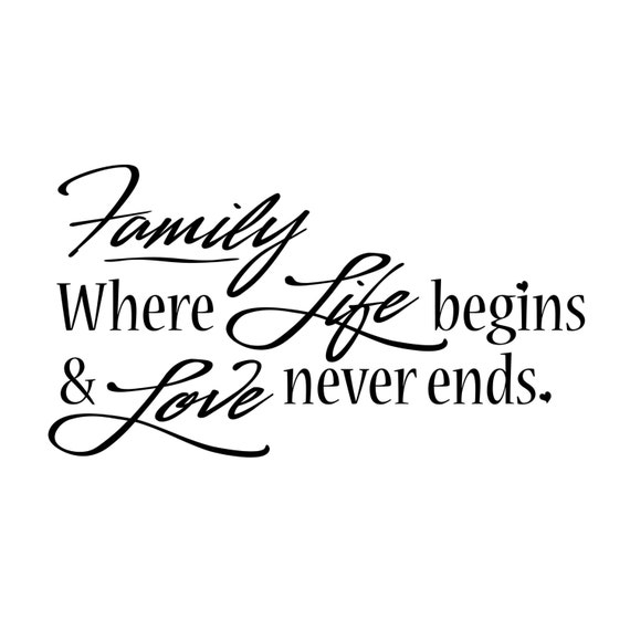Download Family Where Life begins & Love never ends vinyl by ...