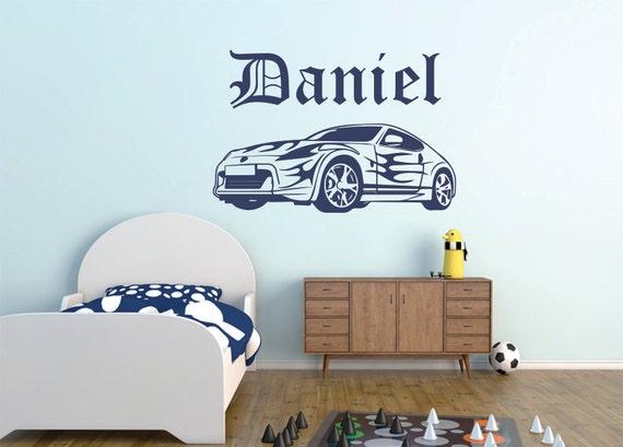 car wall decal boys room car wall decal car vinyl by cartoon car plane wall sticker removable wallpaper for