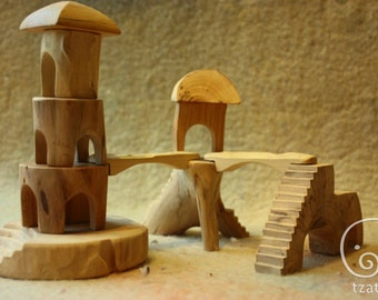 Big Forest Town constructor/wooden blocks