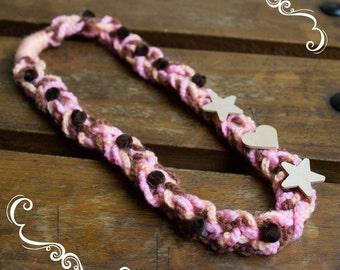 Crochet bandana - Handmade