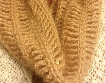 Chin up crochet comfort cowl   Made To Order