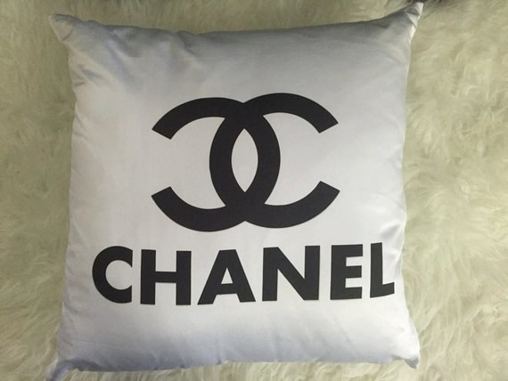 Chanel Inspired Cushion by BlingedAscotLtd on Etsy