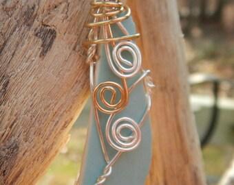 Pottery Necklace #154