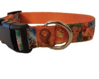 Orange Lion King Collar
