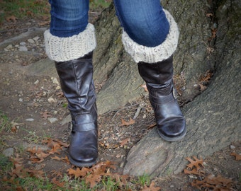 Knit Ribbed Boot Cuffs