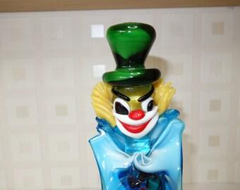 Murano clown scary face!
