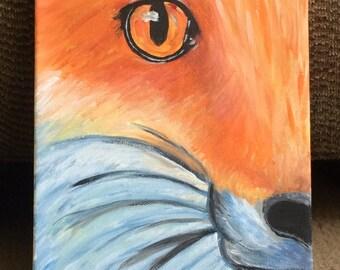 Fox Painting  8X10