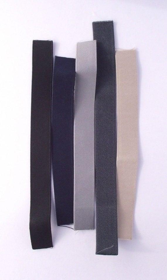 1 Inch (25mm) Suspender Elastic Samples