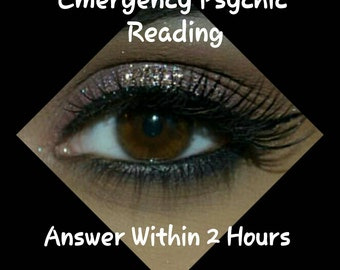 FAST SAME DAY Psychic Reading - By highly experienced Psychic Medium - Answer Within 2 Hours -