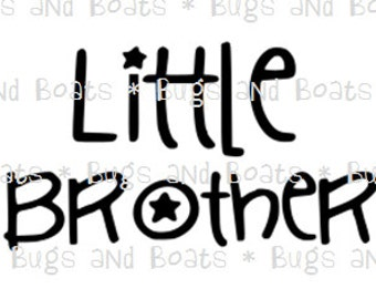 Little brother SVG and DXF files